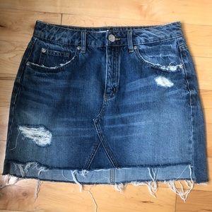Barely worn Denim Skirt by Garage